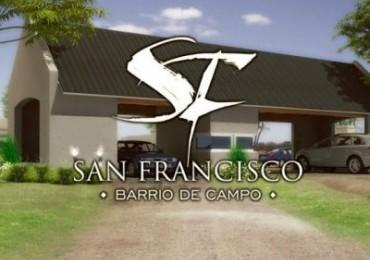 2 LOTES EN VENTA SOBRE RUTA E53 BARRIO SAN FRANCISCO ( BARRIO DE CAMPO)